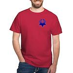 Twisty Magen David Dark T-Shirt