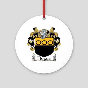 Hogan Coat of Arms Ornament (Round)