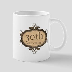 30th Aniversary (Rustic) Mug