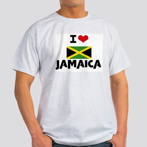 I HEART JAMAICA FLAG T-Shirt