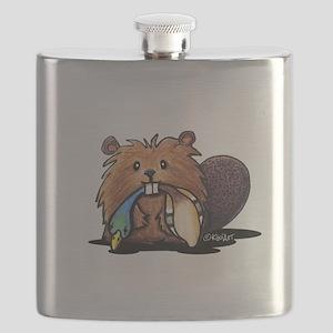 Beaver Lover Flask