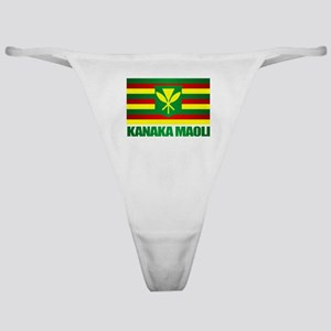 Kanaka Maoli Flag Classic Thong