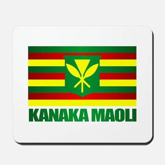 Kanaka Maoli Flag Mousepad