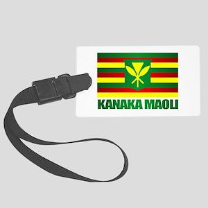Kanaka Maoli Flag Luggage Tag