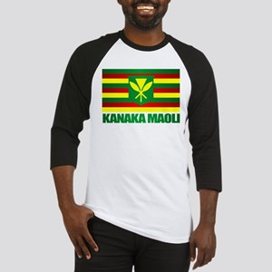 Kanaka Maoli Flag Baseball Jersey