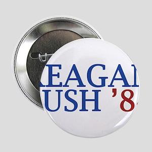 """Reagan Bush '84 2.25"""" Button"""