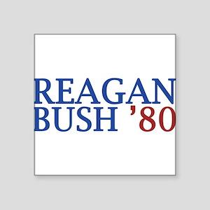Reagan Bush '80 Sticker