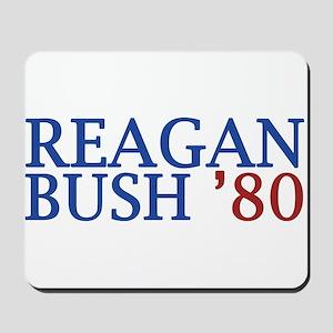 Reagan Bush '80 Mousepad