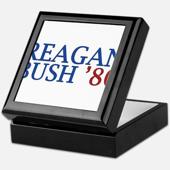 Reagan Bush '80 Keepsake Box
