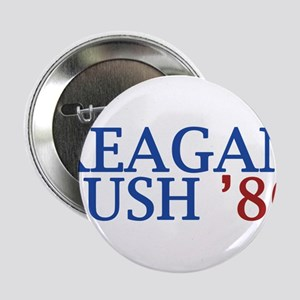 """Reagan Bush '80 2.25"""" Button"""