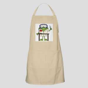 Frog in Science Lab Apron