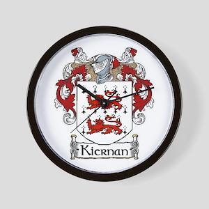 Kiernan Coat of Arms Wall Clock