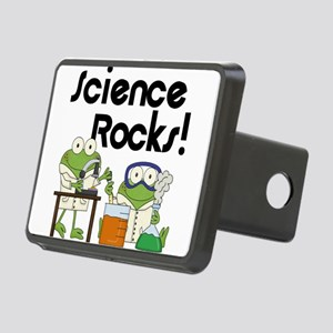 Frogs Science Rocks Hitch Cover