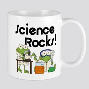 Frogs Science Rocks Mug