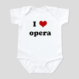 I Love opera Infant Bodysuit