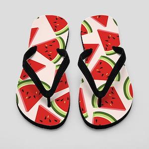 Watermelon Wedges Flip Flops
