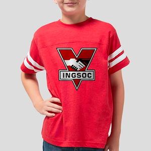 1984 ingsoc logo dark Youth Football Shirt