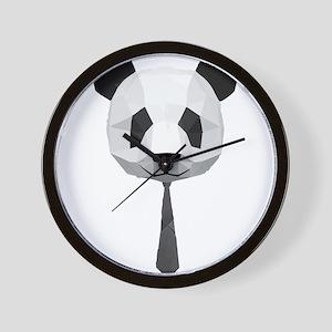 Office Panda T shirt Wall Clock