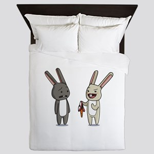 Kinky Bunnies. Queen Duvet