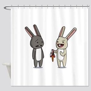 Kinky Bunnies. Shower Curtain