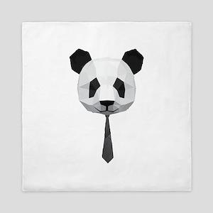 Office Panda T shirt Queen Duvet