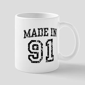 Made In 91 Mug