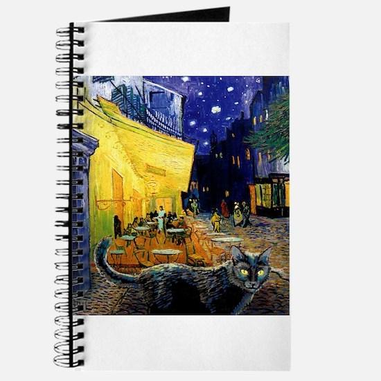 Black Cat Night Cafe Journal