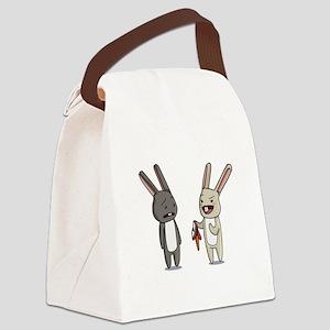 Kinky Bunnies. Canvas Lunch Bag