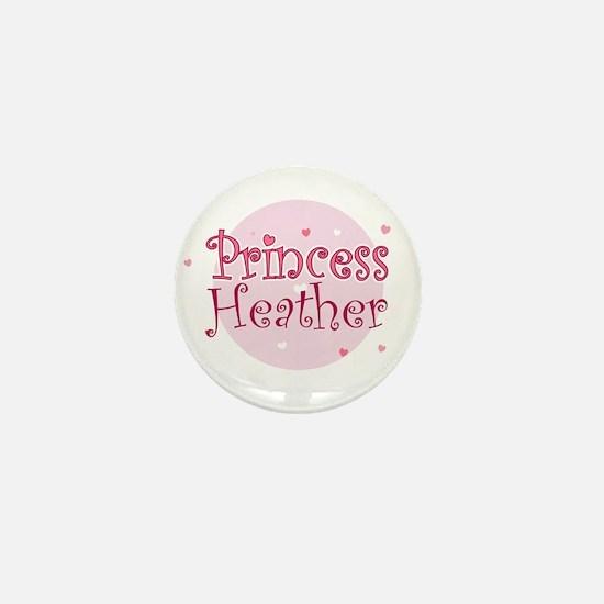 Heather Mini Button