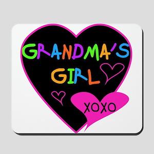 Heart Grandma's Girl Mousepad