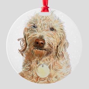 Labradoodle Ginger Ornament