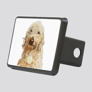 Labradoodle Ginger Hitch Cover