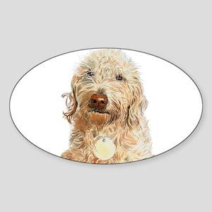 Labradoodle Ginger Sticker
