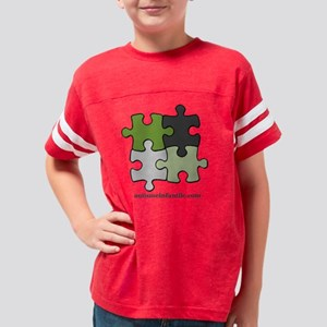 Puzzle Autisme Infantile Gree Youth Football Shirt