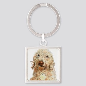 Labradoodle Ginger Keychains