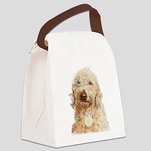 Labradoodle Ginger Canvas Lunch Bag