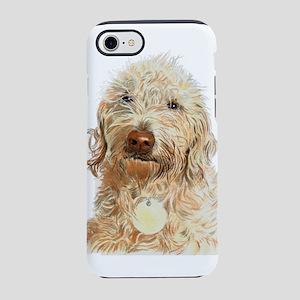 Labradoodle Ginger iPhone 7 Tough Case