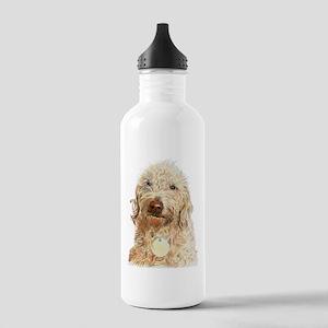 Labradoodle Ginger Water Bottle