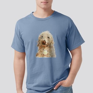 Labradoodle Ginger Mens Comfort Colors Shirt