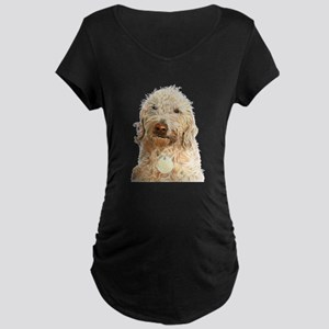 Labradoodle Ginger Maternity T-Shirt