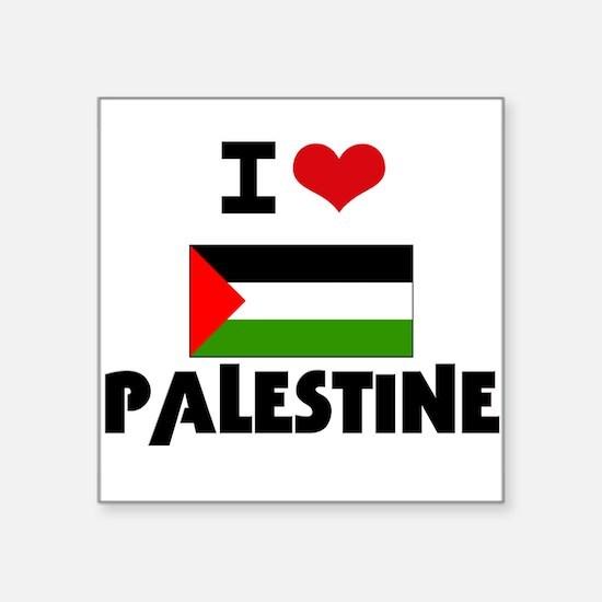 I HEART PALESTINE FLAG Sticker