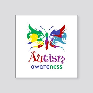Autism Awareness Butterfly Sticker