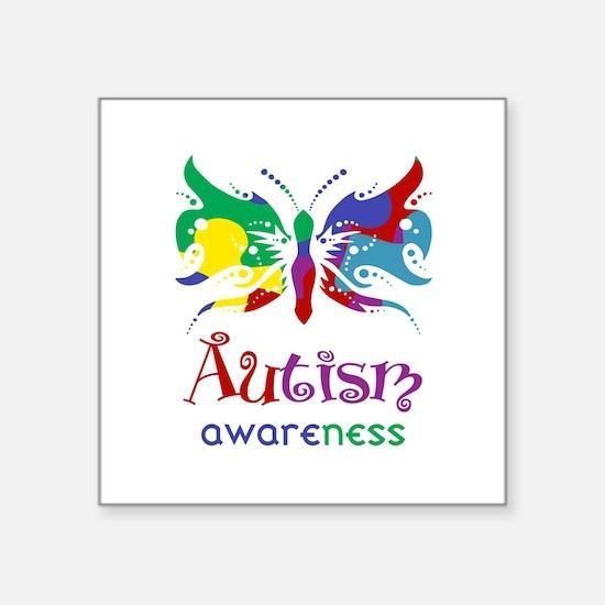 Autism Awareness Butterfly Sticker