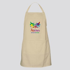 Autism Awareness Butterfly Apron