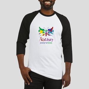 Autism Awareness Butterfly Baseball Jersey