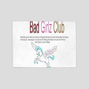 Bad Girlz Club 5'x7'Area Rug
