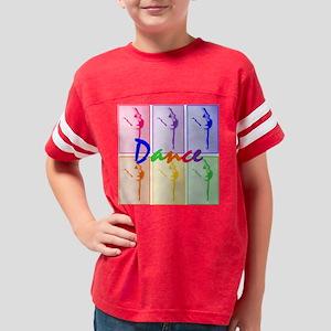 Rainbow dancer Youth Football Shirt