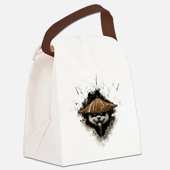 Cute Panda lovers Canvas Lunch Bag