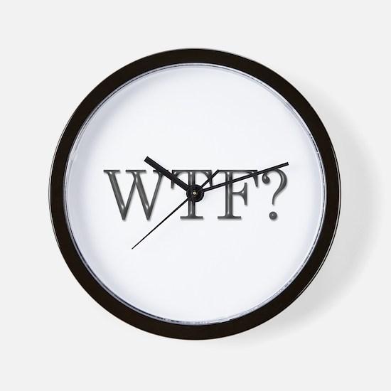 WTF? Wall Clock