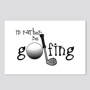 Id Rather Be Golfing Postcards (Package of 8)